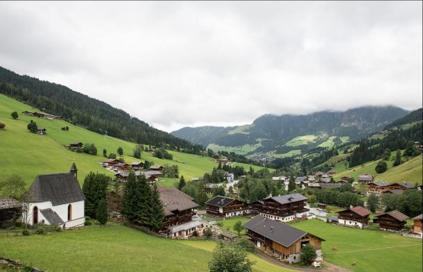 village of alpbach in tyrol