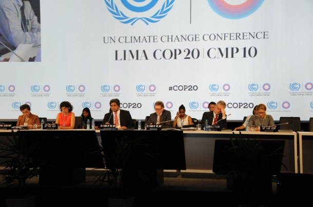 The 20th Conference of the Parties to the Climate Convention (COP 20) opened in Lima on December 1st with big fanfare. It is considered the key milestone event on the road to a comprehensive global deal on climate change that many hope will be struck in Paris in a year's time.   Photo Credit: UN Climate Change